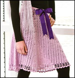 Lilac Lace Skirt, page 30
