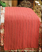 Terra Cotta Bed Scarf, page 62