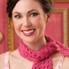 Dress It Up -- Bubblegum Lace Scarf
