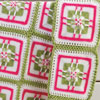 Small Wonders -- Watermelon Parfait Baby Blanket