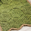At Home -- Raised Hexagons Mat