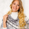 Dress It Up -- Winter Wonder-Lace Wrap