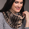 Dress It Up -- Tunisian Colorwork Cowl