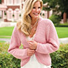 Slip Into Style -- Crunch Stitch Jacket