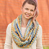 Dress It Up -- Shades of Autumn Cowl