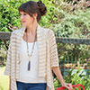 Slip Into Style -- Breezy Open Mesh Cardigan