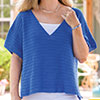Slip Into Style -- Catching Rays Oversize Tee