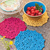 Done in One -- Spring Trivet Trio