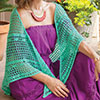Dress It Up -- Jade Isles Shawl