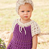 Baby Love -- Cotton & Lace Peasant Dress & ...