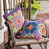 At Home -- Tapestry Pillows