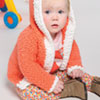 Baby Love -- Frosted Gumdrops Baby Cardigan