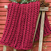 Easy as 1-2-3 -- Plum-A-Licious Throw