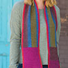 Dress It Up -- Up, Down, Across & Around Scarf