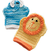 Baby Love -- Bath Mitts