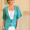 Slip Into Style -- Lace It Up Kimono Cardi
