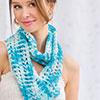 Beginner's Corner -- Shades of Blue Cowl