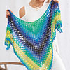 Done In One -- Tahitian Nights Shawl