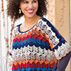Dress It Up -- Wave Poncho