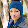 Dress It Up -- Messy Bun Earflap Beanie