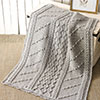 Baby Love -- Highland Heather Baby Afghan