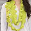 Done in One -- Lacy Scallops Scarf