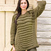 Slip Into Style -- Oversize Run-Around Sweater