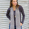 Dress It Up -- Mount Rainier Muffler Scarf