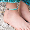 Easy as 1-2-3 -- Toes in the Sand Anklets