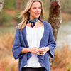Slip Into Style -- Draped Front Cardigan