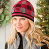 Dress It Up -- Bestwey Plaid Hat