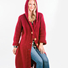 Slip Into Style -- Standout Hooded Cardigan