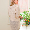 Naturally Enchanting -- V-Stitch Motif Jacket