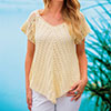 Light & Lacy for Summer — Serein Tee