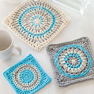 Granny Square Kitchen Trio